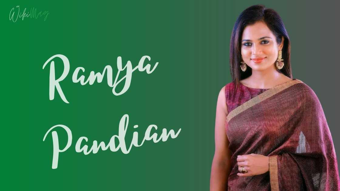 Ramya Pandian Wiki